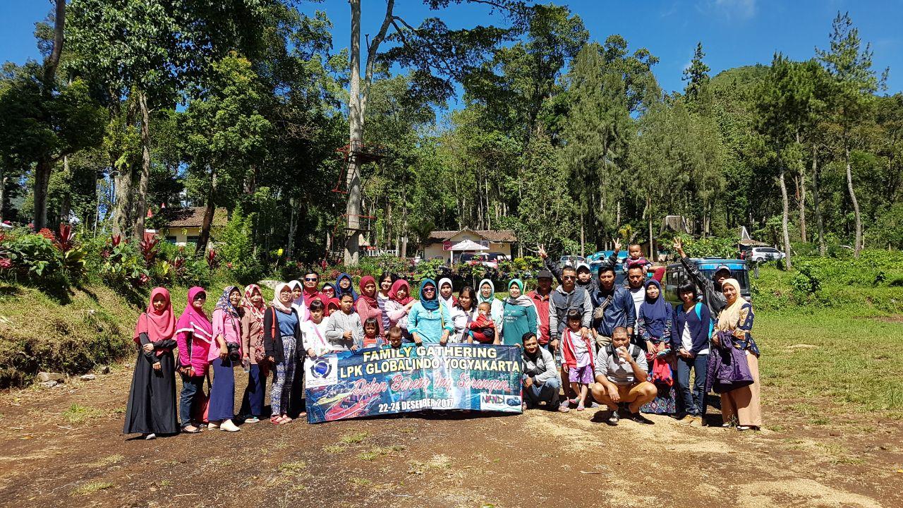 FAMILY GATHERING LPK GLOBALINDO YOGYAKARTA